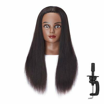 "Mannequin Head 24""-26"" Human Hair Hairdresser Cosmetology Hairingrid"