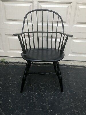 Sack Back Windsor Armchair - Colonial Dining Room Chair Side Chair Large