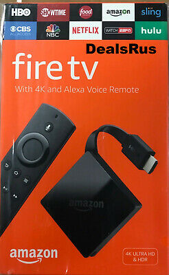 NEW Amazon Fire TV with 4K Ultra HD and Alexa Voice Remote Black, 3rd Gen 2017