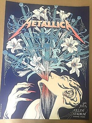 🔥 Metallica Gothenburg Sweden July 2019 Vip Only Poster Screen Print Ap #/60