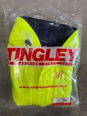 Tingley Jackets: (2XL) J44122 Eclipse Flame Resistant Hooded Jacket