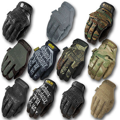 Mechanix Tactical M-Pact Military Army Airsoft Combat CP MPACT Gloves Coyote Tan