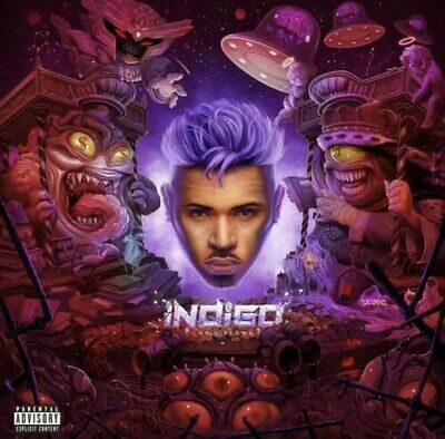 Chris Brown - Indigo - Explicit Version - Brand New CD - Fast Free Shipping