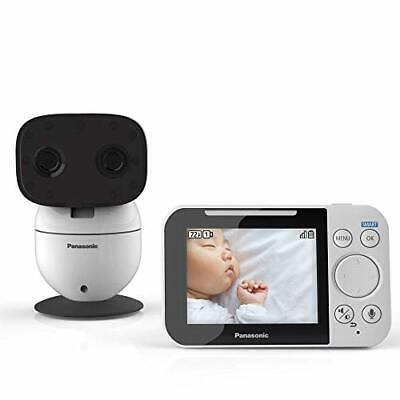 Panasonic Video Baby Monitor with Remote Pan Tilt Zoom Wide-Angle Lens Extra
