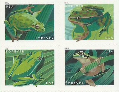 North American Pacific Green Squirrel Tree Leopard Frog US Stamps MINT CONDITION