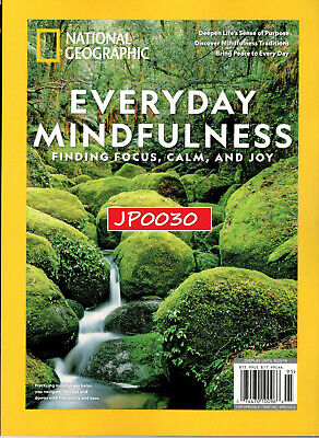National Geographic 2019, Everyday Mindfulness, New/Sealed