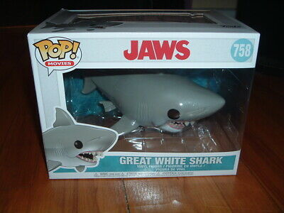 Funko Pop! Great White Shark #758~ New~ Near Mint~ Jaws Series