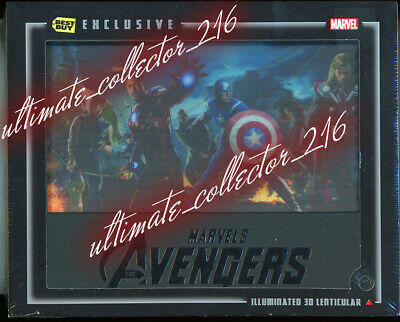 Marvel's The Avengers Collectible Gift Set - 3D Blu-Ray, Character Guide, Litho