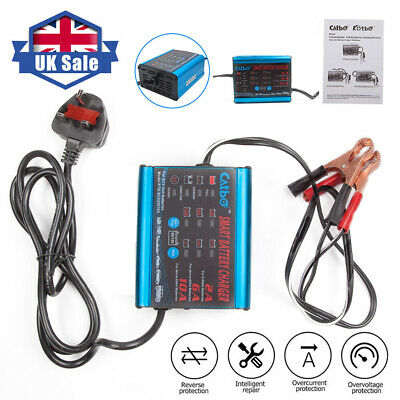Car Smart Battery Charger Automatic Intelligent 12V 6V Cars Bike Vans 10A AMP x1