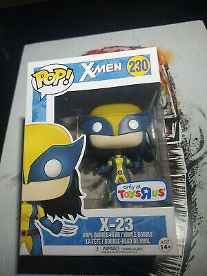 Funko POP TRU Toys R Us EXCLUSIVE X-23 #230 Marvel X-Men Vinyl Figure Wolverine