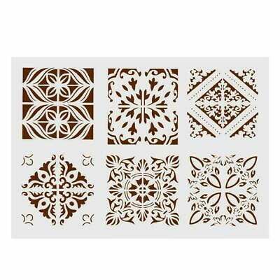 Layering Stencils For Walls Painting Scrapbooking Decor DIY Craft Template U4Q7