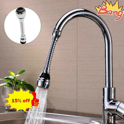 Kitchen Tap Aerator 360° Rotate Faucet Swivel End Diffuser Adapter S Filter F8P0