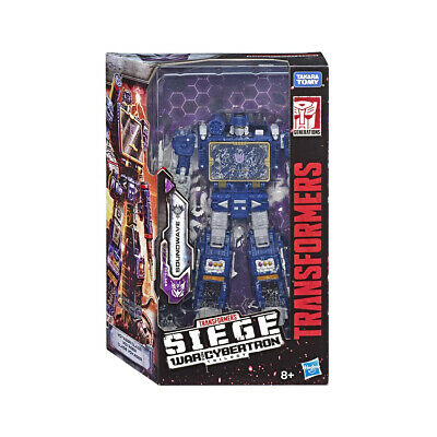 Transformers Generations War For Cybertron Voyager Soundwawe Transformers