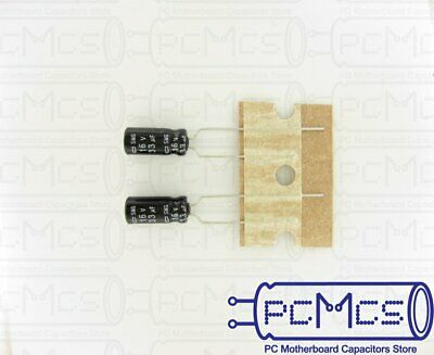 40 of Nippon ChemiCon NCC SMG Series 16V 33UF Made in Japan Downsized Capacitor