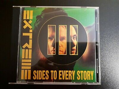 Extreme - III sides to every story 3 CD 1992 Rest in peace Tragic comic
