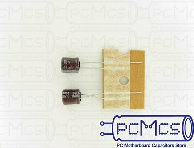 20 Pcs Nippon ChemiCon NCC KMG Series 50V 100UF Made in Japan Capacitor 8x11.5