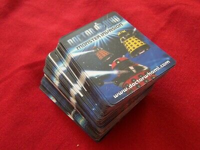 Collection Dr Who Monster Invasion Cards Approx. 96 Cards