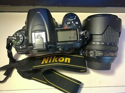 Nikon D7000 Kit Reflex Dx- Obiettivo 18-105 Mm Excellent Condition Con Batteria