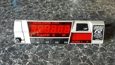 digitax f2 taxi meter perfect working order Good condition