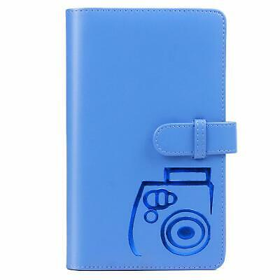 CAIUL Fujifilm Instax 96 Pockets Mini Wallet Photo Album (Cobalt Blue)