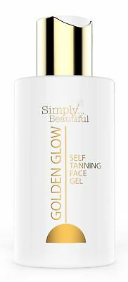 Simply Beautiful GOLDEN GLOW Self Tanning Face Gel 100ml
