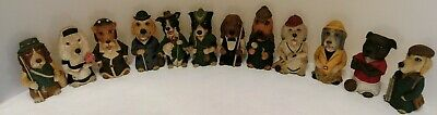 Set Of 12 Assorted Dogsbodies - Blythe Collectable Ornaments (D4)