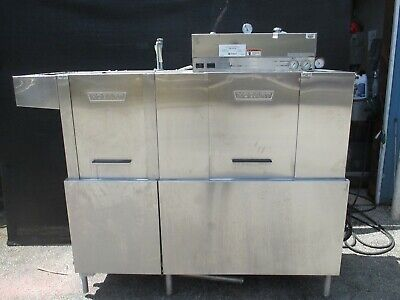Hobart CRS66A Commercial Cleaning Conveyor Dishwasher Sanitizer