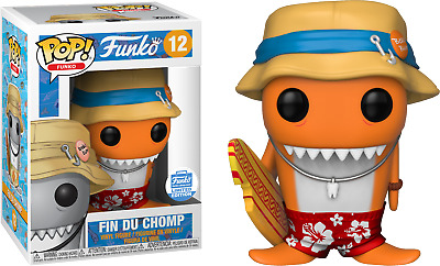 Funko Pop! Fantastik Plastik - Fin Du Chomp Orange #12 (Funko Exclusive)