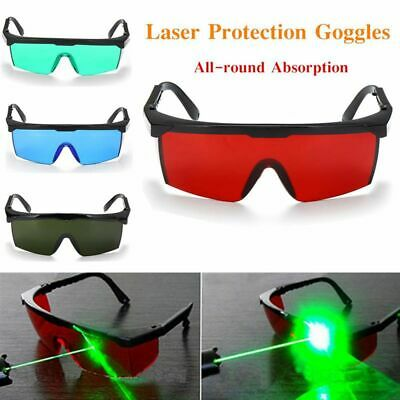 Plastic Laser Eye Protection Safety Glasses Goggles For Various Lasers