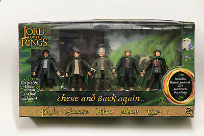 Lord of the Rings - There and Back Again 5 figure set