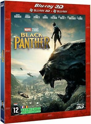 Black Panther 3D - Marvel Studios [ Combo Blu-ray 3D + BR 2D ] NEUF cellophané
