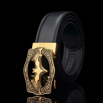KWD Designer Belts for Men's 2019 Luxury Fashion Bat Batman Automatic Buckle Bel