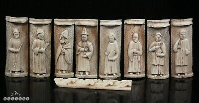 14th / 15th Century Italian Embriachi Carved Panels Venice / Florence