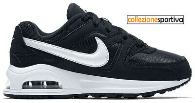 SCARPE BAMBINOBAMBINA NIKE AIR MAX COMMAND FLEX (PS) 844347 011 col.nerobianco