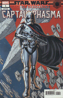 Star Wars: Age of Resistance - Captain Phasma (2019), Variant Cover McKone, new