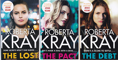 ROBERTA KRAY 3 BOOKS: THE DEBT, THE PACT, & THE LOST her 1ST 3 Books Paperback