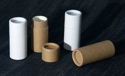 20 1/4 oz Short Cardboard Lip Balm Tube / Eco Friendly Paper Cosmetic Container