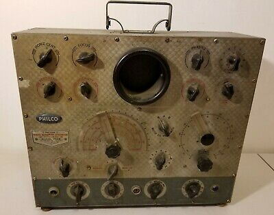 Philco 7008 -Visual Alignment Generator -For TV and FM -Fires Up -Needs Cord  #2
