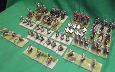 Painted 25mm E. Byzantine / Late Roman Army x76 Wargames old school Hinchliffe