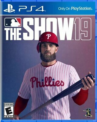 NEW Sony MLB The Show 19 Standard Edition Playstation 4 PS4 FREE SHIPPING