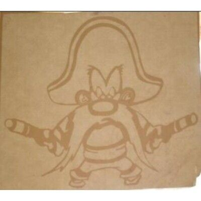 "4"" yosemite sam looney tunes cartoon character logo sticker decal usa made"