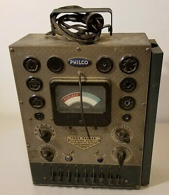 Philco - Model 7050 - Tube Tester - Fires Up - Un-Tested - READ