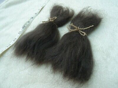 15 gram Dark Brown Mohair without red tones.great for rooting Reborn baby dolls