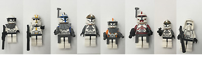 Lego Star Wars Clone Trooper/Officer Minifigures YOU PICK