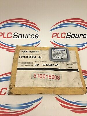 Allen Bradley 1784Cf64 Series A Industrial Compact Flash Memory Card