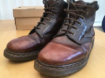 Dr Martens 939 Ben Brown Boot (Crazy Horse) - size 10/45 - Rare MADE IN ENGLAND