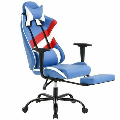 Pc Gaming Chair Ergonomic High-Back Office Chair Desk Chair Executive Pu Leather