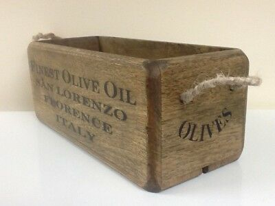 Finest Olive Oil - Vintage Style Kitchen  - Hallway - Bathroom Storage Box