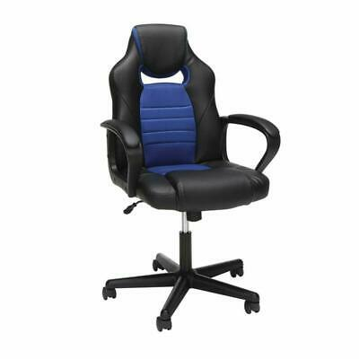 Essentials Gaming Chair - Racing Style Ergonomic Mesh And Leather Computer Chair