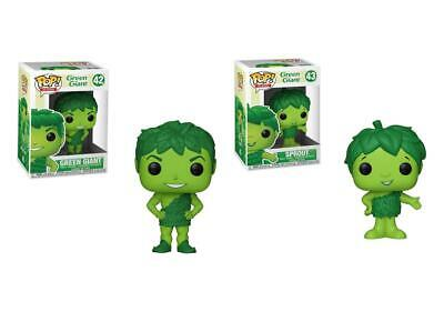 Funko Pop! Ad Icons GREEN GIANT & SPROUT Vinyl Figures #42 & #43 **YOUR CHOICE**